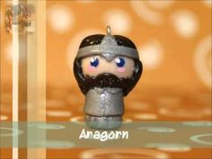 Polymer Clay Chibis - Lord of the Rings theme
