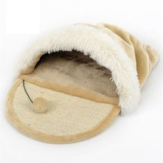 DELLT-Sleeper Grinding dual cat claw cat litter sleeping bag with the top cat house cat house cat bed pet supplies cat scratch board >>> Awesome cat product. Click the image : Cat House Pet Dogs, Dog Cat, Cat Cages, Cat Training Pads, Cat Shedding, Cat Condo, Pet Mat, Cat Scratching, Cat Supplies