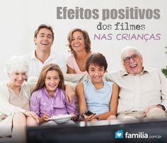 Familia.com.br   Efeitos positivos dos filmes nas crianças.