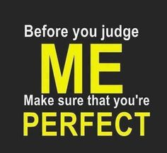 AMEN! =) judge thought, quote