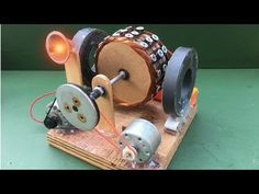 How to Make Free Energy Generator using Powerful DC Motor - Experiment at Homemade - YouTube