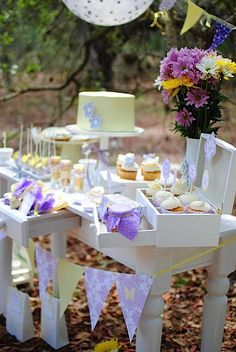 Butterflies and Flowers Party