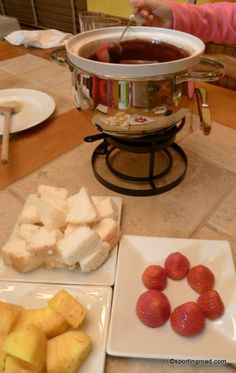 The Original Melting Pot Chocolate Fondue Recipe - this is where we got engaged! Would make a great date night in ❤