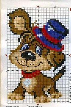 This Pin was discovered by Еле Easy Cross Stitch Patterns, Simple Cross Stitch, Cross Stitch Baby, Cross Stitch Animals, Cross Stitching, Cross Stitch Embroidery, Embroidery Patterns, Quilt Baby, Crochet Baby Hats