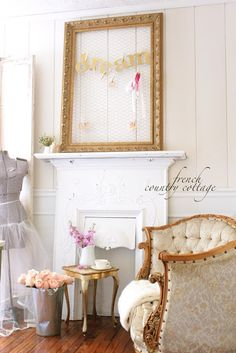 FRENCH COUNTRY COTTAGE: Spring Office Refresh
