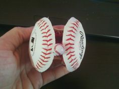 Real Baseball Cuff Bracelet! Tools you will need: 1. Baseball- Bought a 2 pk from Target 2. Box cutter 3. Images from...