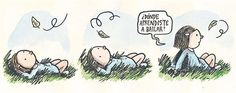 donde aprendiste a bailar...  Ricardo Siri Liniers Some Good Quotes, Nice Quotes, Humor Grafico, Good Notes, Classic Cartoons, Sweet Words, True Words, Happy Quotes, Happiness Quotes