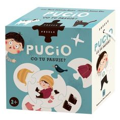 Pucio, puzzle Co tu pasuje - Nasza Księgarnia Kiosk, Toy Chest, Storage Chest, Puzzle, Toys, Fictional Characters, Decor, Charlotte, Baby