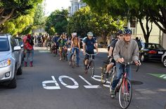 This Is What Happened When Bicyclists Obeyed Traffic Laws Along The Wiggle Yesterday