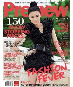 Preview Magazine [Philippines] (September 2009) Kim Chiu