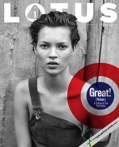 LOTUS magazine    issue # 1 Autumn 2010 [ reprint: Harper's Bazaar December 1994 shot by Peter Lindbergh ]