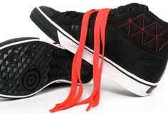adidas Nizza Hi Heel Zip | Black / Infrared - EU Kicks: Sneaker Magazine