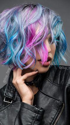 multi-tons pastel de la couleur des cheveux 2017