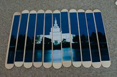 Popsicle Stick Puzzles - moms could bring in their own photos.