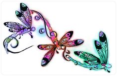 Dragonfly Drawings | Dragonfly laptop skin by ~kkyak1 on deviantART
