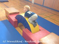 Gymnastics with toddlers, exercise for toddlers - Kinderspiele