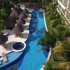 Lazy Rivier Pool at Excellence Playa Mujeres. #Cancun #Mexico #AdultsOnlyVacations
