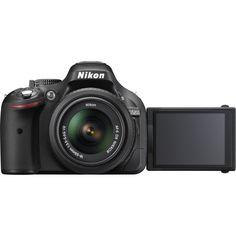 Nikon D5200 Digital SLR Camera with 18-55mm Lens (Black)