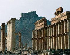 Ancient Roman Ruins Palmyra