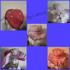 Tuto chapeau (bob / capeline) réversible