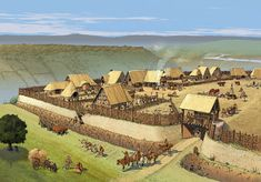 """Gallic oppidum. Oppidum is a Latin word meaning the main settlement in any administrative area. The word is derived from the earlier Latin ob-pedum, """"enclosed space""""."""