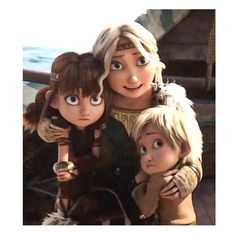"• Together From Afar Forever • on Instagram: ""💞the Chieftess and her children ________________ #httyd3spoilers #httyd3 #howtotrainyourdragon3 #thehiddenworld #ilmondonascosto…"""