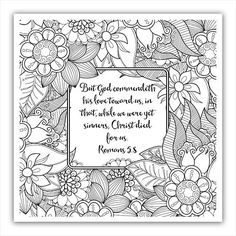 "Today's coloring page. Visit my blog TimeWarpWife.com to get yours. Look for the ""Bible Study Conclusion"" post.  #coloringpages #biblejournaling by timewarpwife"