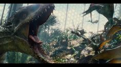 Excellent new trailer for #JurassicWorld with lots of new #VFX shots by #ILM, #ImageEngine, #Hybride and #TippettStudio: http://www.artofvfx.com/?p=10022
