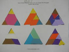 1000 images about montessori shapes geometrie triangles on pinterest montessori 3d shapes. Black Bedroom Furniture Sets. Home Design Ideas