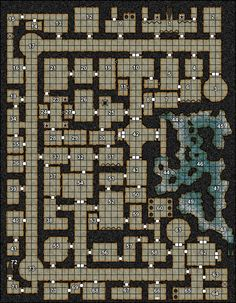 Ad&D 4th edition dungeon maps - Google Search