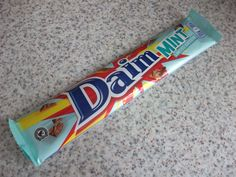 Mint Daim Bar (Swedish limited edition) - mint flavoured butterscotch coated in milk chocolate