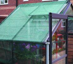 Greenhouse Shading 2m x 2.5m (6.6ft x 8.2ft) - Provides 55% shade