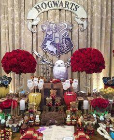 Birthday Party Harry Potter New Ideas Harry Potter Halloween, Harry Potter Diy, Natal Do Harry Potter, Harry Potter Desserts, Harry Potter Fiesta, Harry Potter Baby Shower, Harry Potter Cosplay, Theme Harry Potter, Harry Potter Wedding