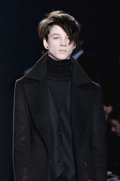 Ash Stymest at Costume National F/W 2009 ❤️