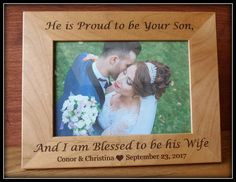 Mother of the groom picture frame parents of the groom picture frame Engraved Picture Frames, Wedding Picture Frames, Personalized Picture Frames, Picture Engraving, Etsy Handmade, Handmade Gifts, Groom Pictures, Wedding Gifts For Groom, Little Gifts