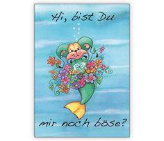 Entschuldigungs Grußkarte mit Blumen: Hi, bist Du mir noch böse? - http://www.1agrusskarten.de/shop/entschuldigungs-gruskarte-mit-blumen-hi-bist-du-mir-noch-bose/    00021_0_2812, entschuldigen, Entschuldigung, Grusskarte, Klappkarte, Sorry, Vergebung, verzeihung00021_0_2812, entschuldigen, Entschuldigung, Grusskarte, Klappkarte, Sorry, Vergebung, verzeihung