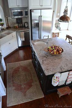 Country farmhouse kitchen remodel