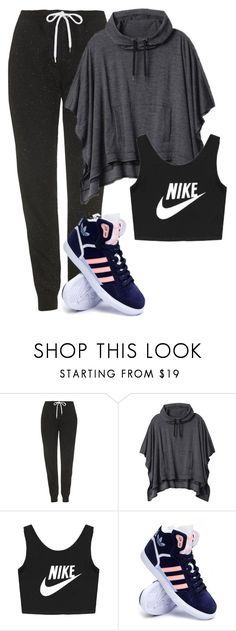 """""""Dance practice with Momo"""" by berrie95 on Polyvore featuring Topshop, Athleta, NIKE, adidas, twice and momo"""