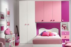 In the teenage room you can count on the help of your daughter, of course. If not check these girl room design ideas Kids Bedroom Sets, Small Room Bedroom, Girls Bedroom, Kids Room Furniture, Bedroom Furniture, Bedroom Decor, Modern Furniture, Italian Furniture, Rustic Furniture