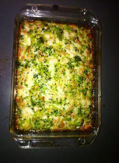 Riquísimo y Facilísimo!!!  Los ingredientes son: Brócoli hervido, 2 latas de atun al natural, 5 claras de huevo (1 huevo entero opcional),...