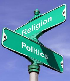 "Politics and Religion Intersect! - by Virginia Lieto - Two ""taboos"" of discourse: politics and religion! Both are discussed today. Read to learn my thoughts on the current status of political candidates. http://virginialieto.com/politics-and-religion-intersect/…"