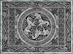Celtic Symbols Dragon | Celtic Tapestries: Celtic Designs, Mythology, Gods, Goddesses, Faeries ...