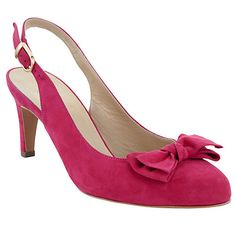 Buy Peter Kaiser Berny Suede Slingback Court Shoes Online at johnlewis.com