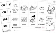 Thanksgiving-Dia de gracias-hoja de trabajo | Teaching Spanish ...