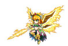 Zele Brave Frontier, Princess Zelda, The Unit, Fictional Characters, Image, Art, Art Background, Kunst, Fantasy Characters