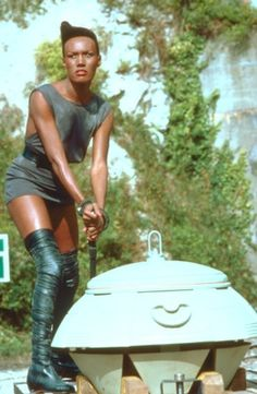 Grace Jones in 'View To Kill' (1985)