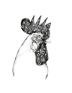 Coq au Vuitton