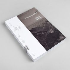 As of the back cover. Maybe have a little paragraph about the project and place the text landscape rather than portrait. Process Journal: Edition Seven