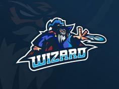 Wizard Mascot Wizards Logo, Gamer Tags, Calligraphy Logo, Esports Logo, Sewing Shirts, E Sport, Sport Quotes, Sport Motivation, Ninjas