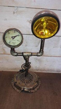 Nu in de #Catawiki veilingen: Steampunk lamp